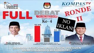FULL LIVE DEBAT Keempat Capres Pilpres 2019 - Jokowi & Prabowo -