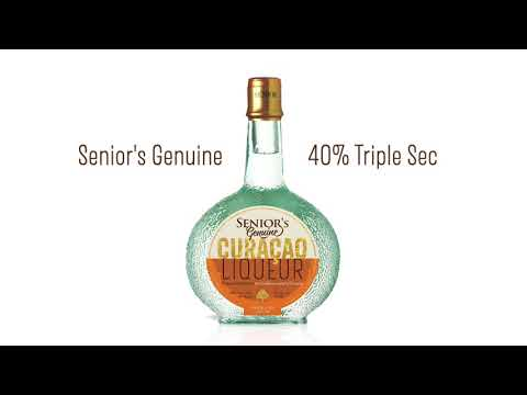 New Senior's Genuine Curaçao Liqueur 40%