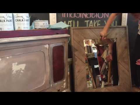 How To Use Annie Sloan Chalk Paint® White Wax on Wood