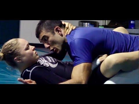 Ronda Rousey Gracie Jiu-Jitsu Training Camp