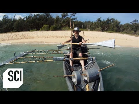 Constructing A Duct Tape Boat | MythBusters