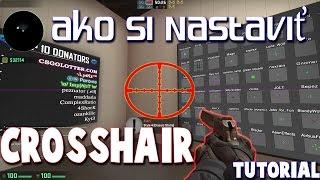 CS:GO - Ako si Správne Nastaviť Crosshair (CZ/SK 1080p60)