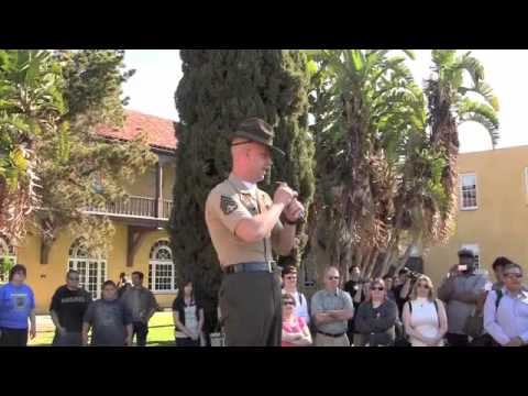 DI Instructions Part One, Moto Run, Family Day, MCRD San Diego