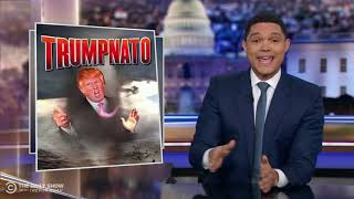 Trump Feuds with France at the NATO Summit   The Daily Show