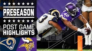 Rams vs. Vikings | Game Highlights | NFL