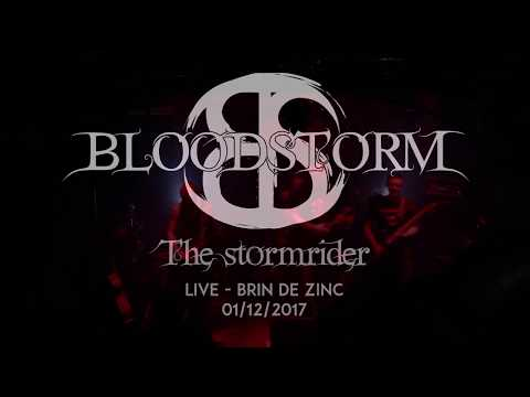 Bloodstorm - The Stormrider live at Brin de Zinc 01/12/2017