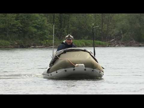 Надувная лодка K300 на сплаве