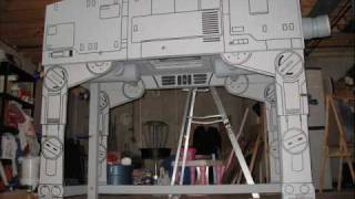 Star Wars Imperial Walker Loft Bed