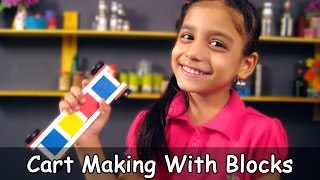 Block Puzzle Indoor Games For Kids # 3 - Cart Making By Ishani @ jaipurthepinkcity.com