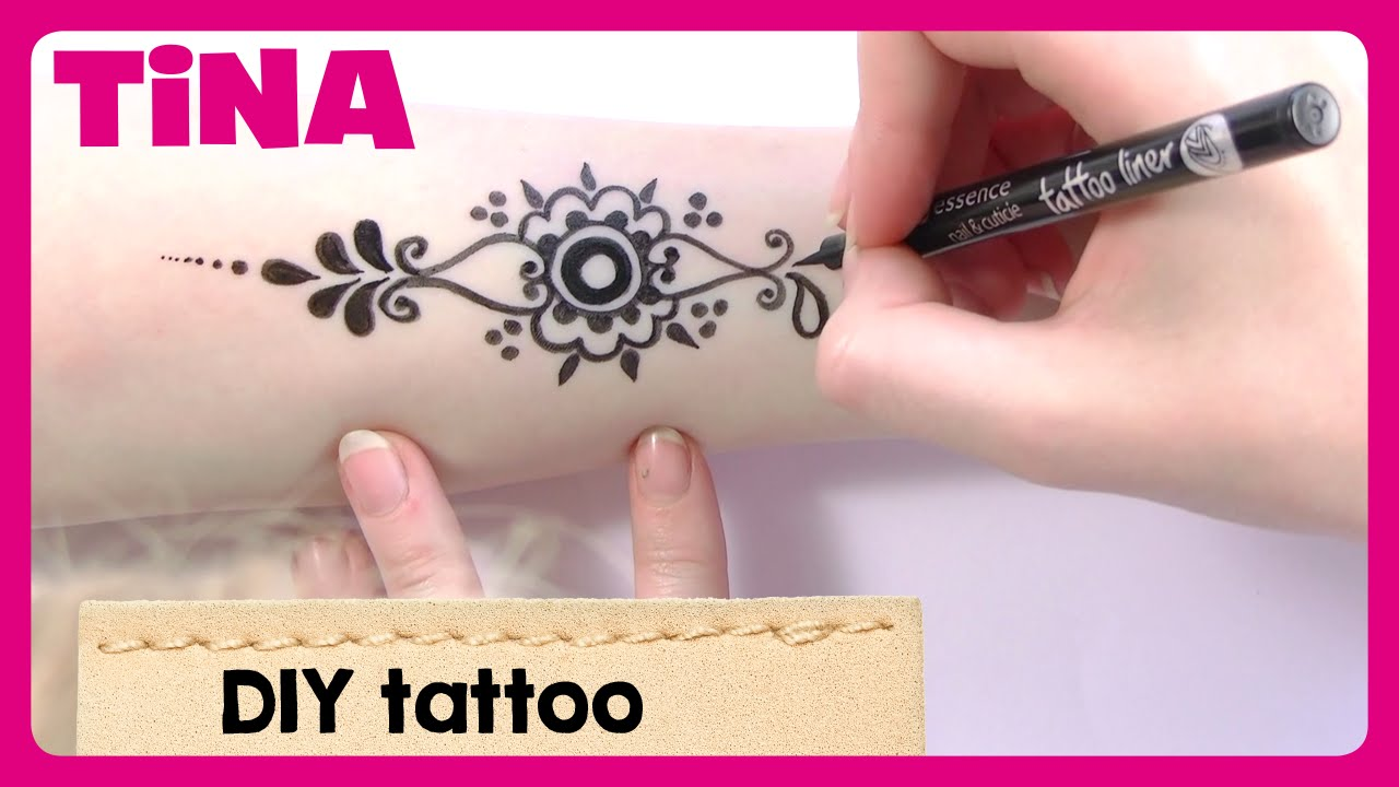 Top Henna tattoo doodlen met Imke | Tina - YouTube @RY38