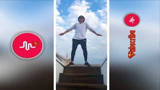 Stair Shuffle Challenge Best Musically/TikTok Compilation