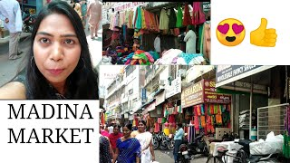 MADINA MARKET VLOG|GOLDEN GIRL CHANDU|