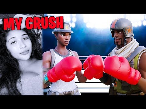 my BEST FRIEND likes my CRUSH, so I did this… (Fortnite)