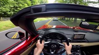 POV Drive In Our New 2016 Mazda MX-5 Miata!