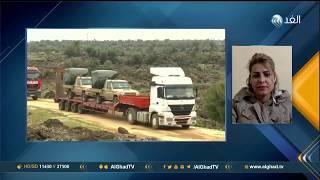 مراسلة الغد: الجيش التركي يشن غارات مكثفة في عفرين