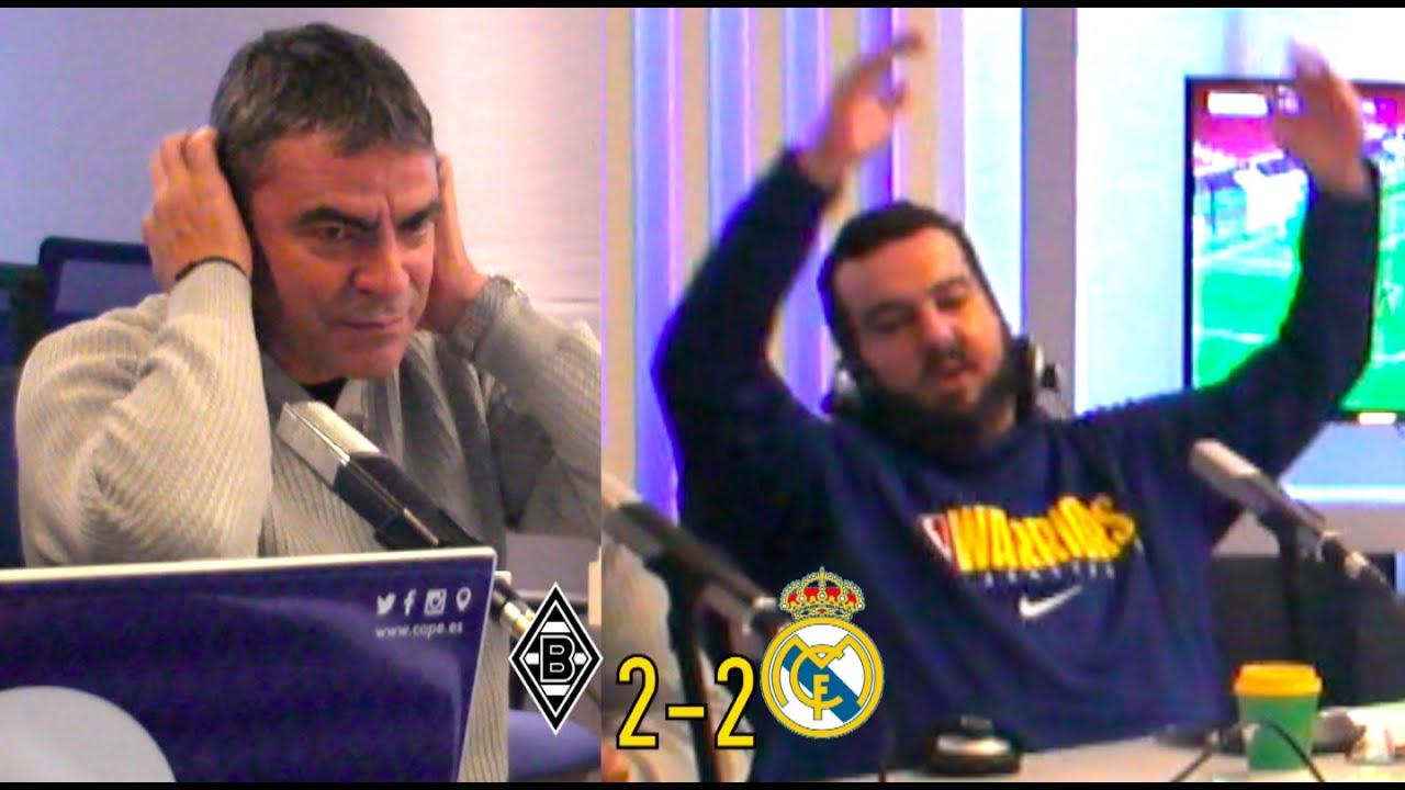 El Real Madrid empata a la épica contra el Borussia en el último minuto   Reacción de Manolo Sanchís