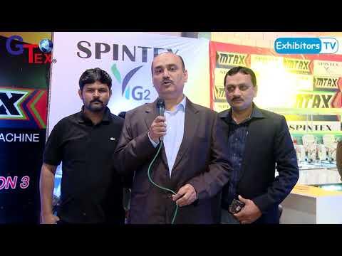 Mtex Group at Gtex 2018 Textile Machine Brand Exhibition in Karachi Pakistan