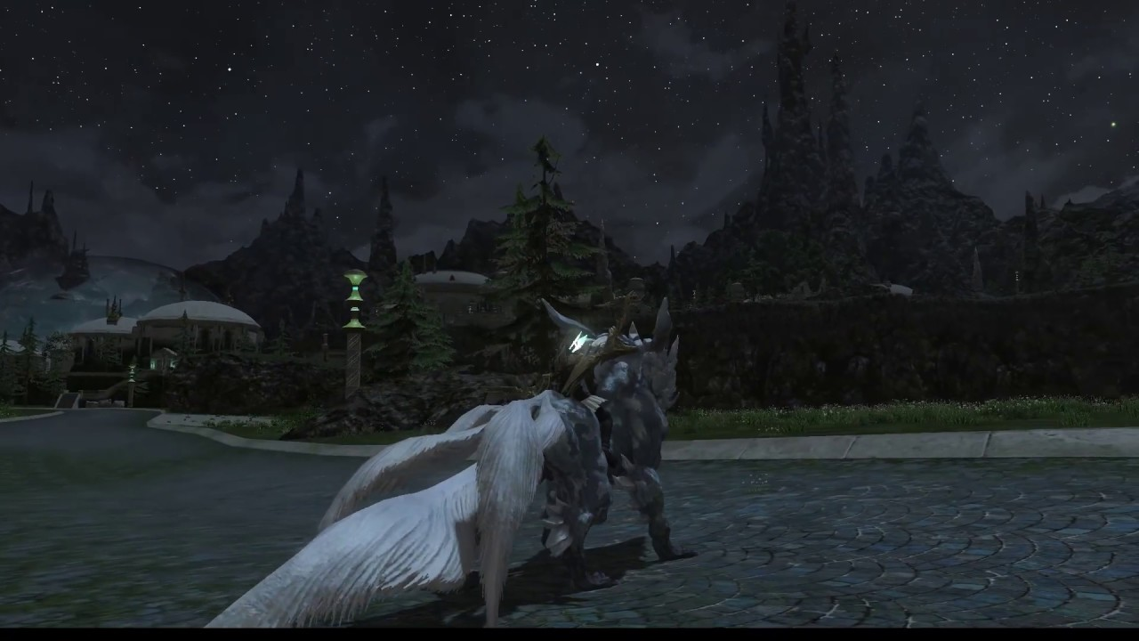 Ffxiv Mounts From Gold Saucer Youtube