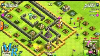 Farming With The Squid Ninjas On Clash Of Clans, With Micro Rig