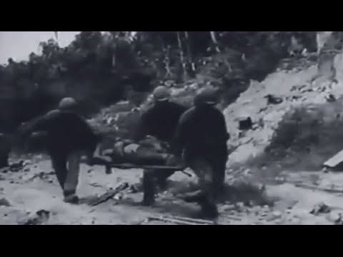 Angaur Invasion Action Palau Islands Sept 17 - Oct 22, 1944 WW2 Combat Footage