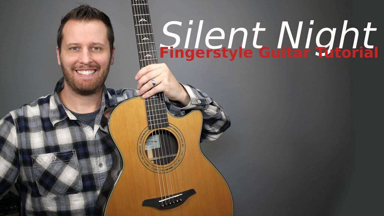 silent night guitar tutorial with tab youtube. Black Bedroom Furniture Sets. Home Design Ideas