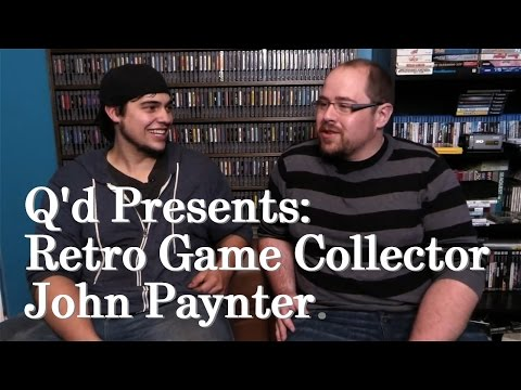 Q'd Presents: Retro Game Collector John Paynter