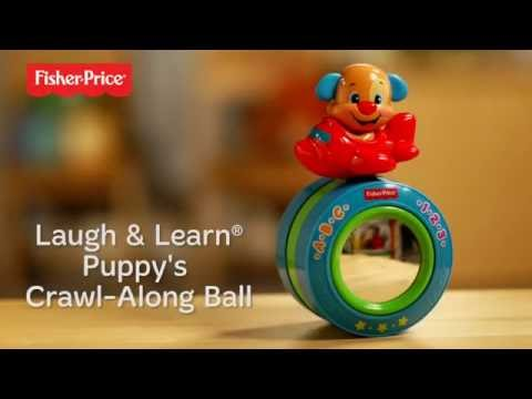Fisher Price Laugh & Learn™ Puppy's Crawl Along Musical Ball™