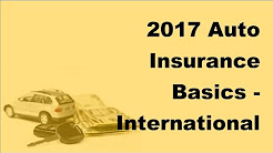 2017 Auto Insurance Basics | International Adventure Travel By Car