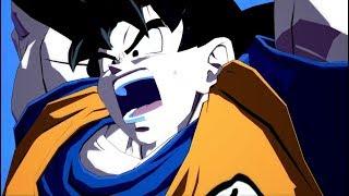 Dragon Ball FighterZ Easter Egg: Goku's Spirit Bomb Dramatic Finish (English & Japanese Dub)