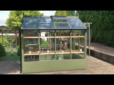 Product Review: Swallow Kingfisher 6 X 8 Ft ThermoWood Greenhouse