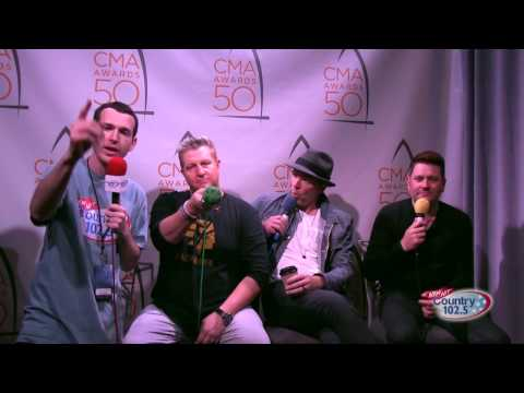 The 50th Annual CMA Awards Broadcast: Rascal Flatts Interview