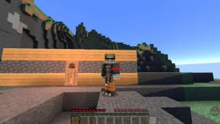 Minecraft survival indonesia #6 membangun jembatan sederhana