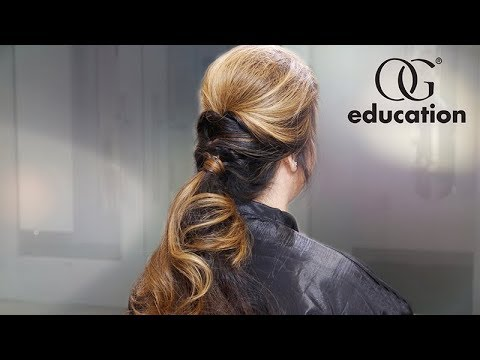 How to Get This Tousled Upstyle: Master Series | Olivia Garden