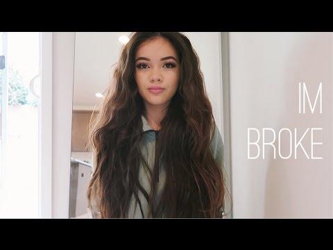 im broke!! | viv vlogs #1