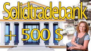 Solidtradebank платит. Заработок в интернет. Сколько заработал.