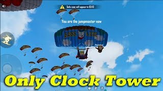 Free Fire Only Clock Tower Attacking Squad Ranked GamePlay Tamil | Ranked Match | Tips& TRicks Tamil