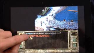 Icewind Dale 2 on a Windows Tablet