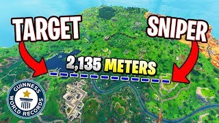 THE 20 GREATEST SNIPER SHOTS EVER (2,000M+) - FORTNITE