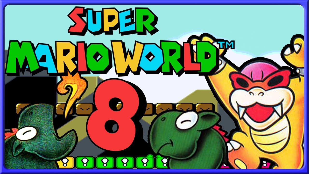 Chocolate Island  Mario World