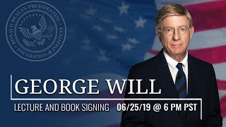 LECTURE AND BOOK SIGNING WITH GEORGE WILL