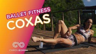 Reduzir Gordura na parte INTERNA das COXAS - Carol Borba