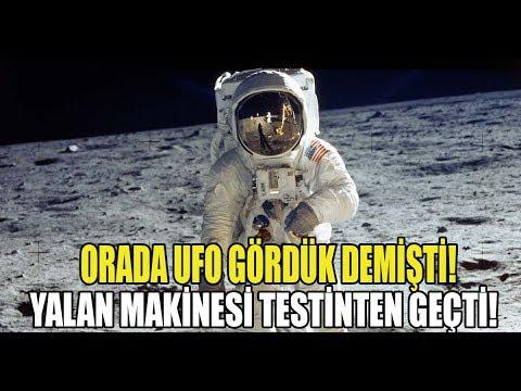ORADA UFO GÖRDÜK!
