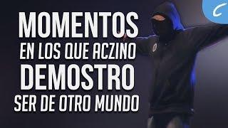 MOMENTOS en los que ACZINO DEMOSTRO SER de OTRO MUNDO   2018 Freestyle/Rap
