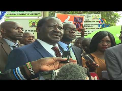 NASA not breaking law with 10 million strong slogan - Raila