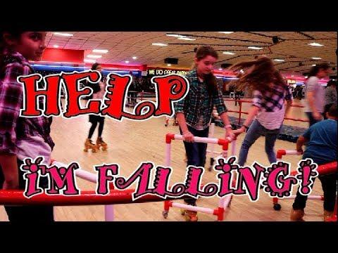 HELP I'm Falling at Roller Rink  :  Fulltime RV Family Living Coast 2 Coast  :  #IAmACreator #VEDA