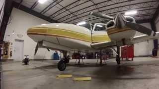 beechcraft be 76 duchess gear swing dash aviation