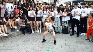 """LOVELY LITTLE GIRL """"DAYOON""""💗💕. 'KILL THIS LOVE' COVER. CUTE TOUCHING PERFORMANCE. SO IMPRESSIVE."""
