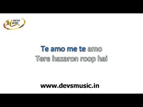 Te Amo Karaoke Dum Maaro Dum wwwsic.in Devs Music Academy
