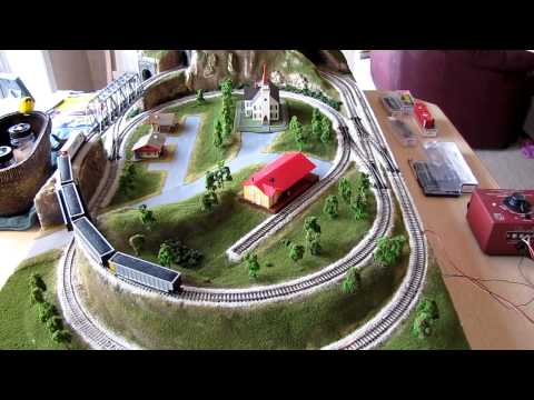 N Scale Custom Layout Part 3