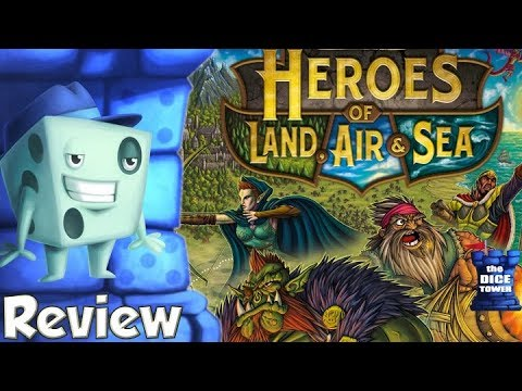 Heroes of Land, Air, & Sea Review - with Tom Vasel